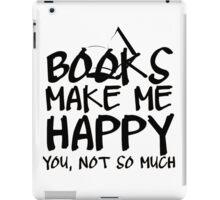 Books Make Me Happy iPad Case/Skin