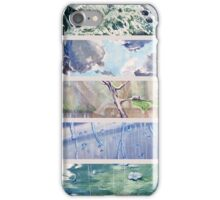 Rain Comes Down iPhone Case/Skin