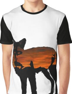 Sunset in the Fox Graphic T-Shirt