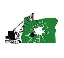 Portland Demolition Photographic Print