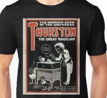 Performing Arts Posters Thurston the great magician the wonder show of the universe 0270 Unisex T-Shirt