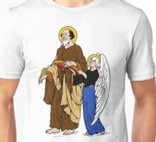 ST MATHEW THE APOSTLE WITH ANGEL Unisex T-Shirt