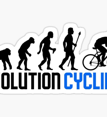 Evolution Cycling Sticker