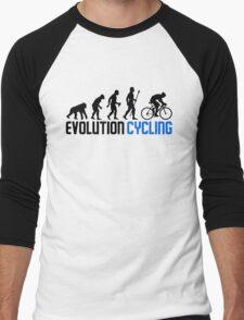 Evolution Cycling Men's Baseball ¾ T-Shirt