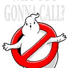 GHOST, WHO YOU GONNA CALL? LOGO by Bantambb