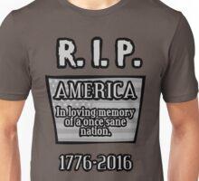 RIP America Gravestone Unisex T-Shirt