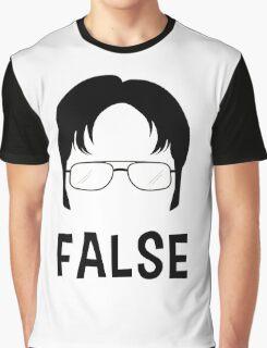 Dwight Schrute - FALSE Graphic T-Shirt