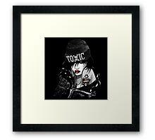 Toxic Girl Framed Print