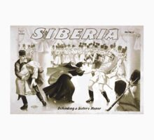 Performing Arts Posters Siberia written by Bartley Campbell 1353 One Piece - Short Sleeve
