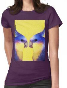 Winnie Bird Womens Fitted T-Shirt