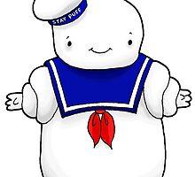 Stay puft marshmallow man by Bantambb