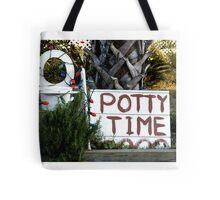 Potty Time Tote Bag