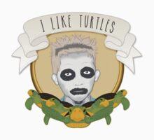 I Like Turtles Kids Tee