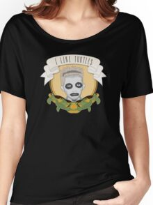 I Like Turtles Women's Relaxed Fit T-Shirt