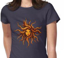 Sun Goddess . Womens Fitted T-Shirt