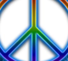 Peace Sign Sun Sticker