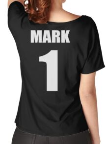 Number 1 Wrestling Mark T-Shirt Women's Relaxed Fit T-Shirt