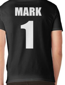 Number 1 Wrestling Mark T-Shirt Mens V-Neck T-Shirt