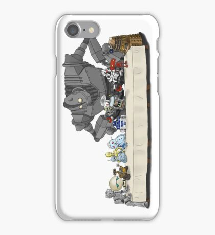 the Last Supper...with ROBOTS iPhone Case/Skin