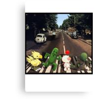 Final Fantasy Abbey Road Canvas Print