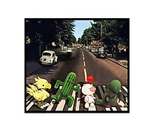 Final Fantasy Abbey Road Photographic Print