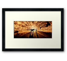 Distant Eden Framed Print