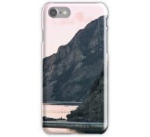 Cinque Terre hiking iPhone Case/Skin