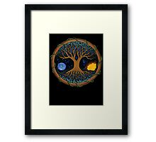 Astral Tree of Life Framed Print