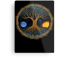 Astral Tree of Life Metal Print