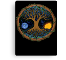 Astral Tree of Life Canvas Print