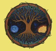 Astral Tree of Life Kids Clothes