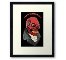Handsome monster Framed Print