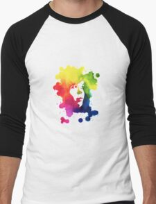 Ink Girl Men's Baseball ¾ T-Shirt