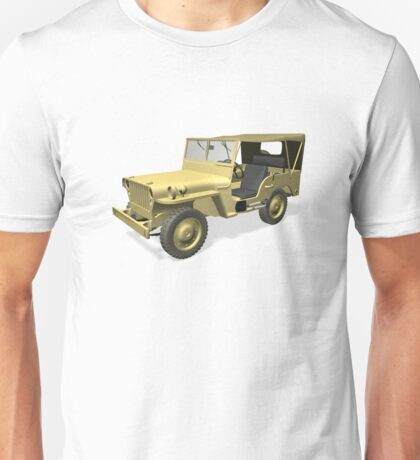 Willys MB Jeep Unisex T-Shirt