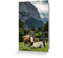 Lauterbrunnen Switzerland Greeting Card