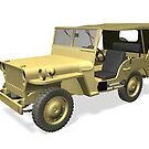 Willys MB Jeep by Mythos57