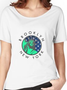 Brooklyn, New York City Women's Relaxed Fit T-Shirt