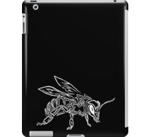 """Bee Spirit"" ver.2 - Surreal abstract tribal bee totem animal iPad Case/Skin"