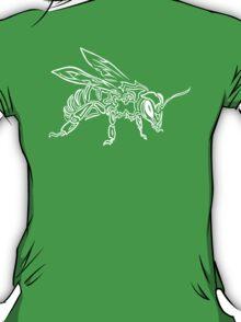 """Bee Spirit"" ver.2 - Surreal abstract tribal bee totem animal T-Shirt"