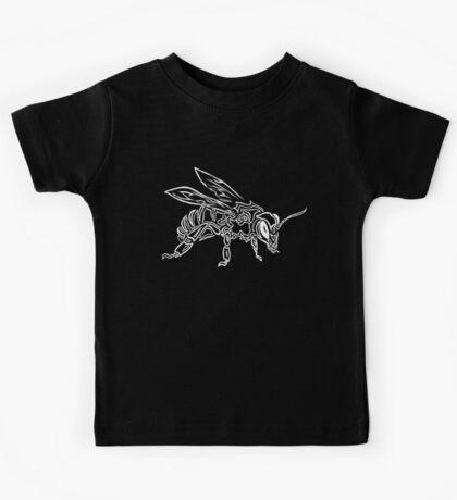 """Bee Spirit"" ver.2 - Surreal abstract tribal bee totem animal Kids Tee"