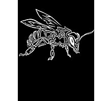 """""""Bee Spirit"""" ver.2 - Surreal abstract tribal bee totem animal Photographic Print"""
