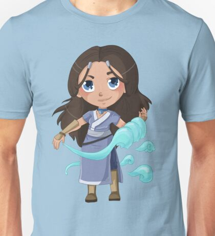 Katara, from the Water Tribe Unisex T-Shirt