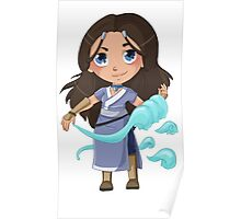 Katara, from the Water Tribe Poster