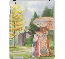 Little Shifu and Tiger iPad Case/Skin