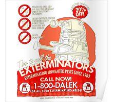 Dalek Exterminators Poster
