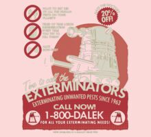 Dalek Exterminators Kids Tee