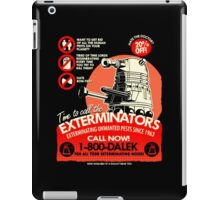 Dalek Exterminators iPad Case/Skin