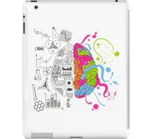 Analytical and Creative Brain iPad Case/Skin