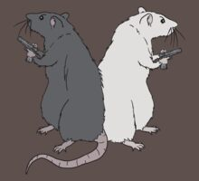 Rats with Gats by Leah McNeir