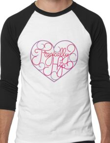 love hip Men's Baseball ¾ T-Shirt